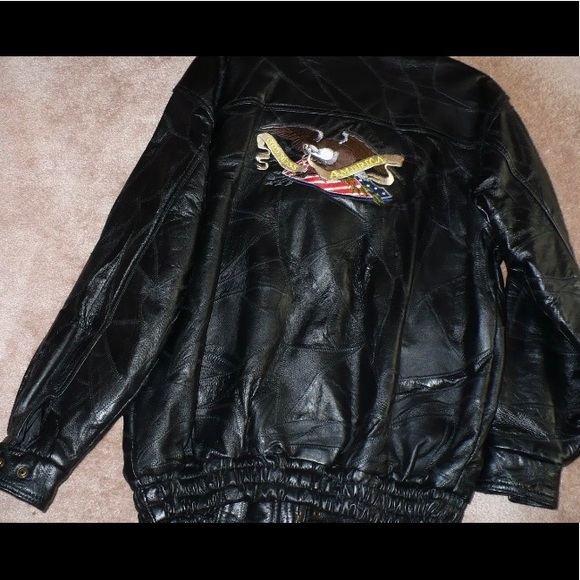 5f7787cdc 50% off store! Men's Leather Motorcycle Jckt, M
